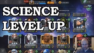 Science Level Up   Marvel Contest of Champions