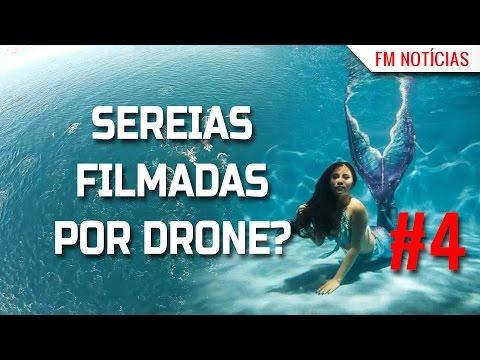 🔵 SEREIAS FILMADAS POR DRONE - CONHEÇA A VERDADE - FM NOTÍCIAS #4