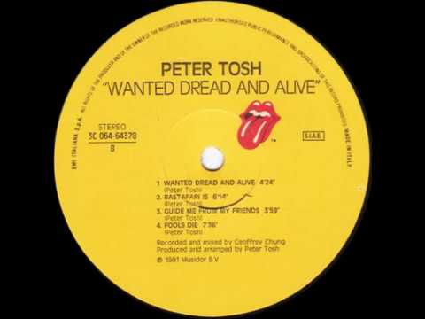 Peter Tosh - Guide Me From My Friends [Rolling Stones Records 1981]