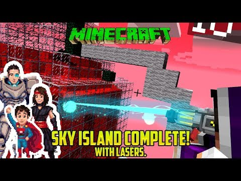 Minecraft: SKY ISLANDS COMPLETED! And check out this mod!
