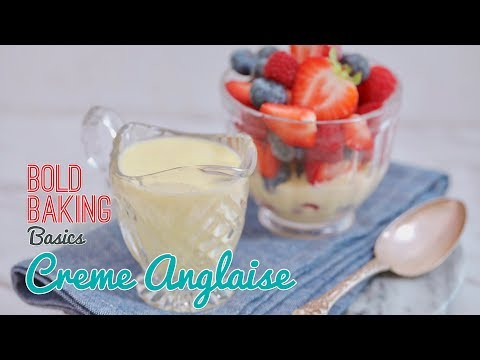 Foolproof Creme Anglaise (Classic Vanilla Custard Sauce)
