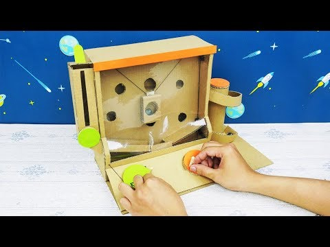 DIY - How to Make Marble Game from Cardboard - Easy Cardboard Crafts