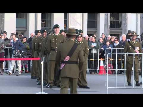 Gun Salute Marking the Declaration of the First World War in New Zealand
