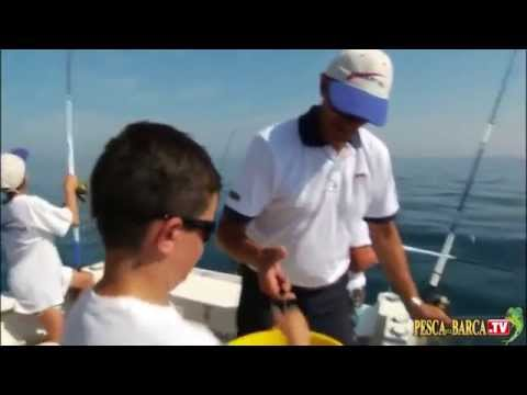 Marco Volpi consiglia come portare a pesca i figli facendoli divertire