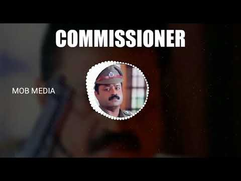 Suresh Gopi Mass Bgm From Commissioner | Bharathchandran Ips |