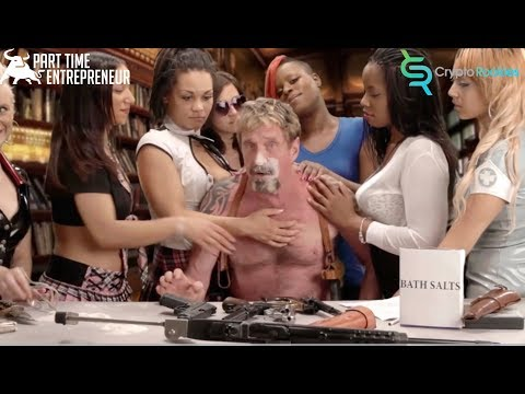 John McAfee Inteview not coked up at Bitcoin Conference!!