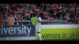 Video Gol Pertandingan Swansea City vs Stoke City
