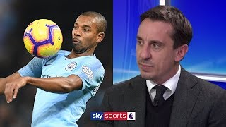 Gary Neville and Jamie Carragher praise 'unreal' Man City midfield in victory over Liverpool