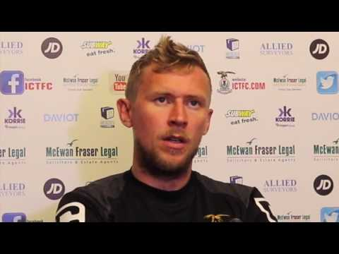CaleyJagsTV : Richie Foran ahead of match v Hearts : 18/08/16