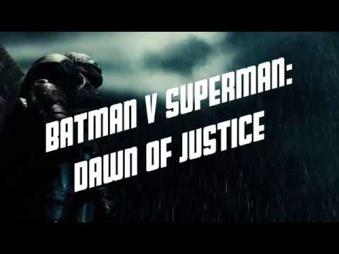 Batman v Superman: Dawn of Justice Noir Style (Fan)Trailer