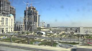 Dubai Creek extension works and Habtoor Palace Hotel