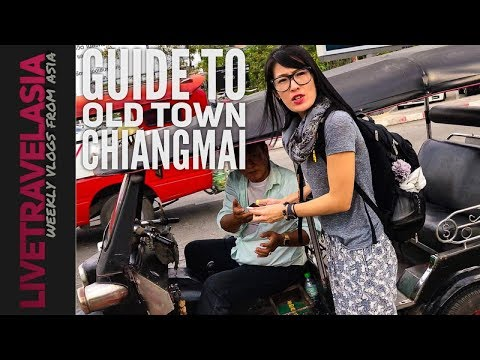 Getting Around Old Town Chiang Mai - Transportation, Guesthouse, Restaurants, Shopping
