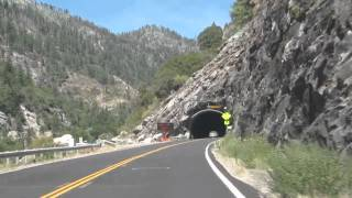 Rock tunnels CA-70 feather river scenic byway