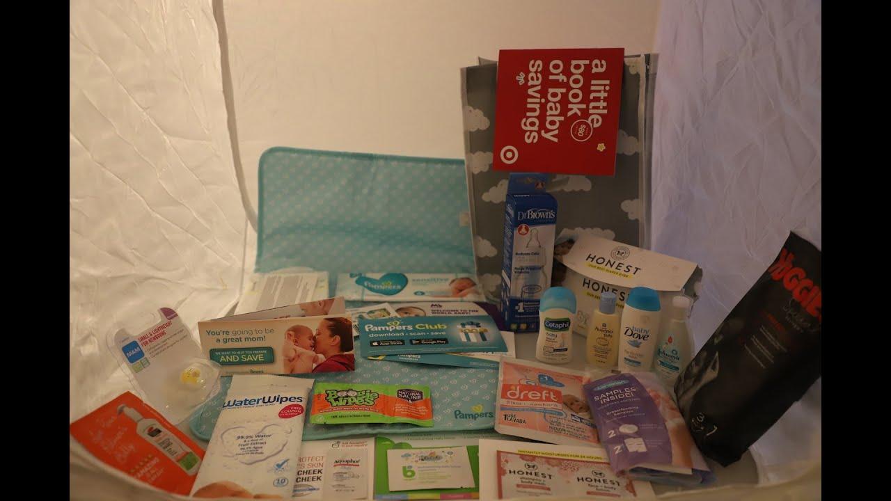 Target Baby Registry Bag _ Free Samples - YouTube