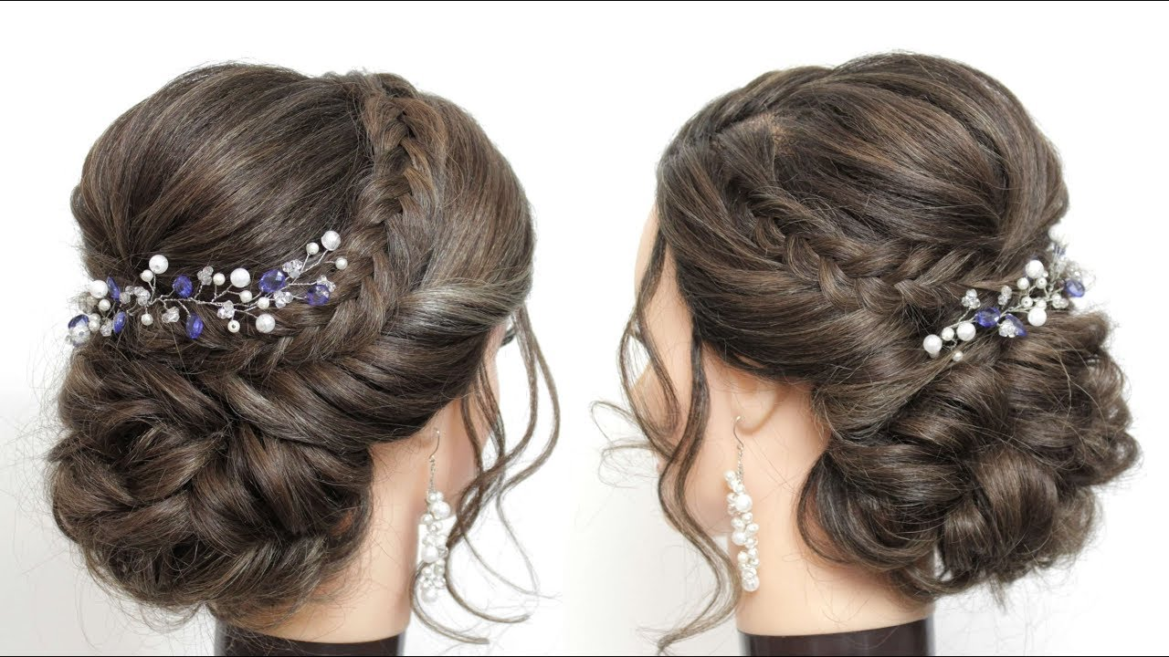 wedding prom updo tutorial. bridal hairstyles for long hair