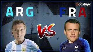 El Destape Mundial | El Mundial de Presidentes: Argentina vs. Francia