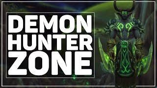 WoW Legion: The Full Demon Hunter Starting Zone [Mardum]