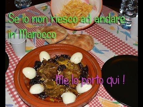 le ricette tajine marocchino con le prugne
