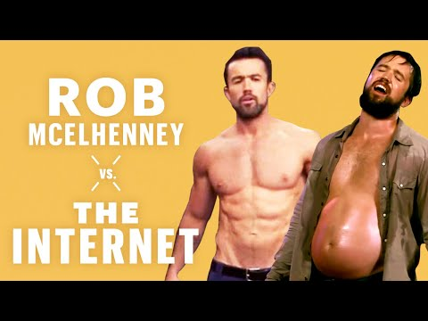 Rob McElhenney on Getting Jacked For 'It's Always Sunny' | Vs. The Internet | Men's Health