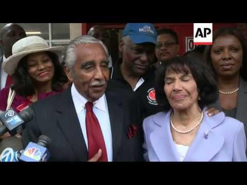 U.S. Representative Charles Rangel, the face of Harlem politics for generations, has held off a stro