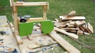 Bandsaw Sawmill Misadventures Part 2