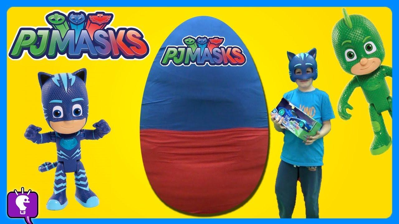 PJ MASK SURPRISE ADVENTURE Egg by HobbyKidsTV!