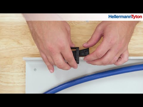HellermannTyton Wedge Clip Installation — Allied Electronics & Automation