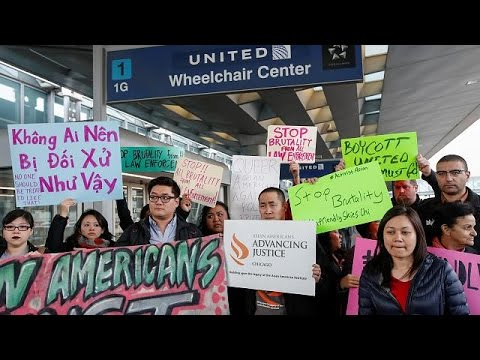 Asian Americans outraged at United Airlines