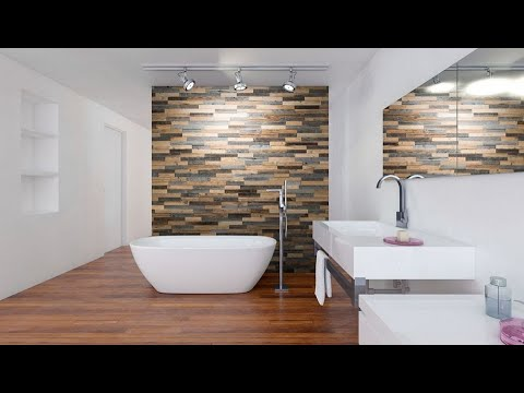 Wooden Pvc Wall Paneling Design Ideas Bathroom Bedroom Living Room Kitchen Youtube