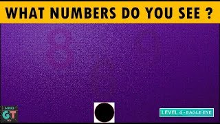 What Numbers Do You See ? 98% Fail - Eye Test