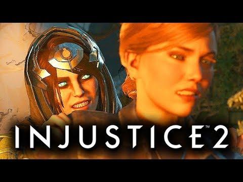 Injustice 2 Gameplay German Multiverse Mode - Enchantress Story