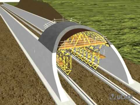 Mk Carriage For Cut And Cover Tunnels Ulma Construction
