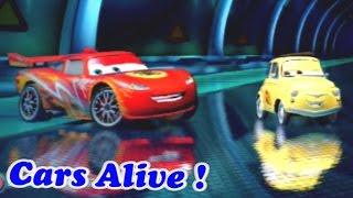 Cars 2 game play - 2 Player Split Screen 03