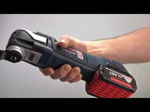 Bosch Blue Professional Power Tools - GOP 18V-EC Brushless Multitool