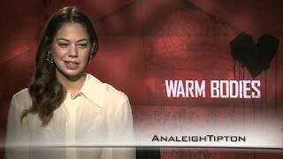 Download Video Analeigh Tipton interview for the film Warm Bodies MP3 3GP MP4