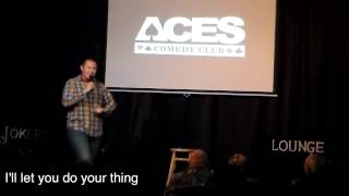 Mike Devore performs at Aces Comedy Club May 29-30 2015