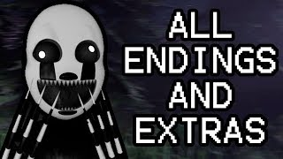NIGHTMARIONNE PLAYS: Five Nights Before Freddy's 2 (Night 5-6) || ALL ENDINGS AND EXTRAS!!!