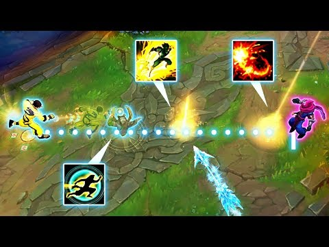 Calculating The PERFECT Outplay - 200IQ CLEAN MONTAGE - League of Legends