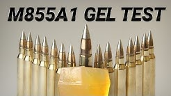 The Army's New Ammo Is a Long Distance Devastator - M855A1 Gel Test