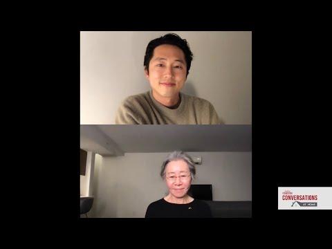 Conversations At Home With Steven Yeun \u0026 Yuh-Jung Youn Of MINARI