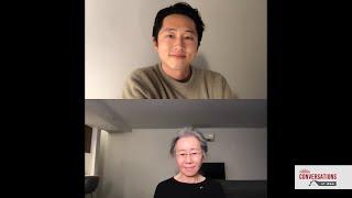 Conversations at Home with Steven Yeun & Yuh-Jung Youn of MINARI