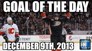 NHL GOAL OF THE DAY (December 9th, 2013)
