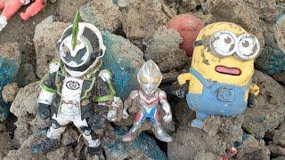 Ultraman Di Dalam Tanah Episod 11 | Ultraman Zero | Ultraman Ginga | Ultraman Orb | Kame Rider Zio