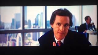 THE WOLF OF WALL STREET - Hum hum hum Scena Completa ITALIANO Matthew McConaughey & DiCaprio.