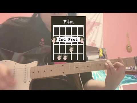 [Guitar Tutorial] Agust D - Burn It (feat. MAX) (어거스트 디 - Burn It (feat. MAX)