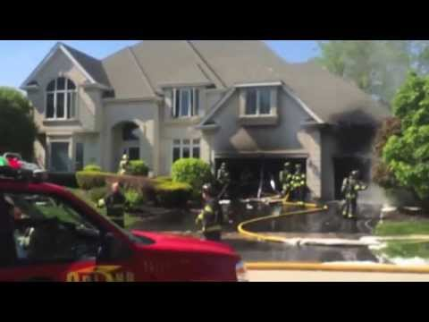 Orland Fire Protection District House Fire at 10636 Great Egret Drive, Orland Park, IL