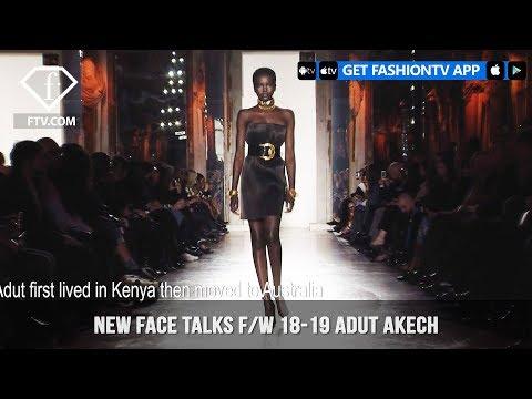 Adut Akech New Face Talks Fall/Winter 2018-19   FashionTV   FTV