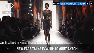 Adut Akech New Face Talks Fall/Winter 2018-19 | FashionTV | FTV