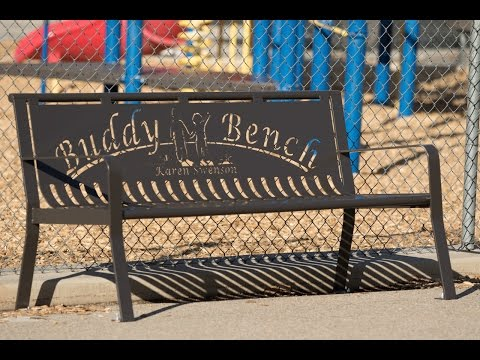 Quality Site Furniture Buddy Bench
