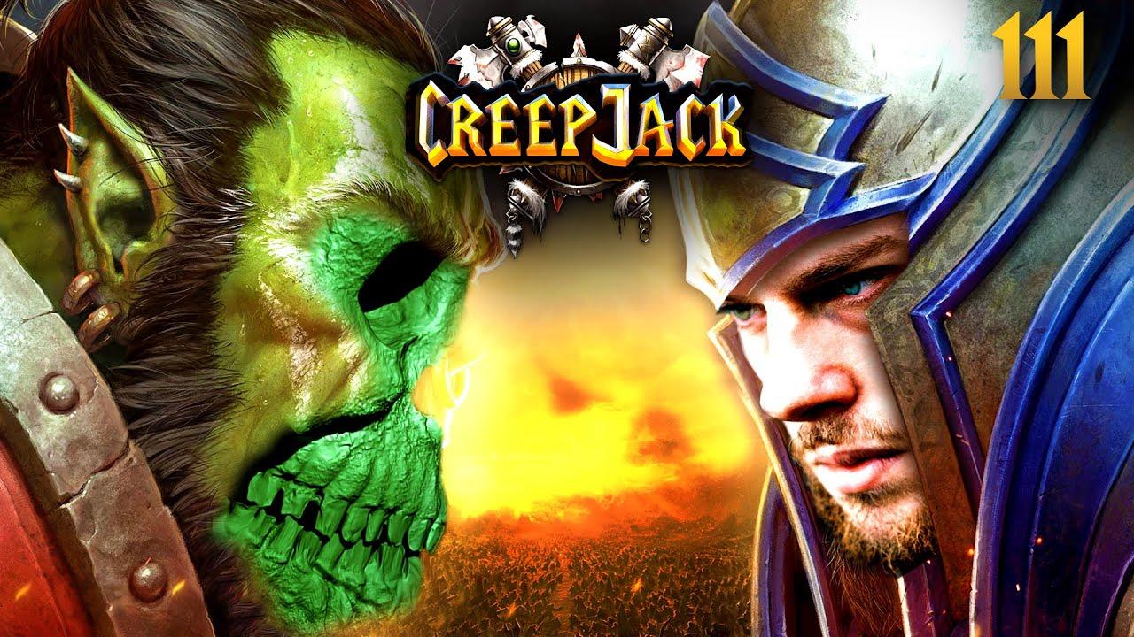 Florentins bisher wohl spannendstes + desaströsestes Match   Creepjack - Warcraft 3